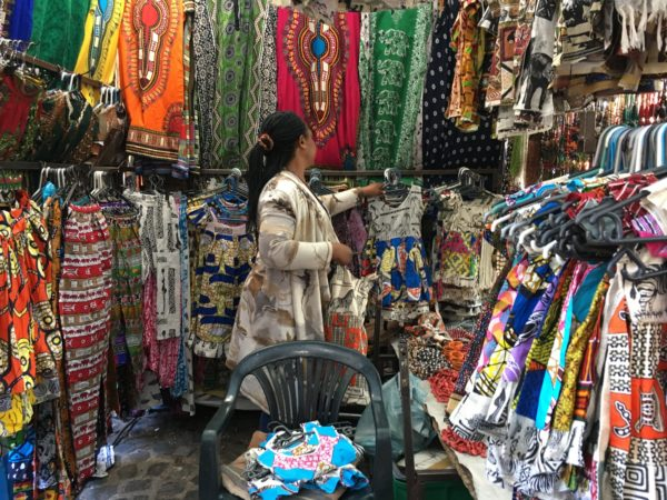 Shopkeeper in South Africa Black Panther Wakanda