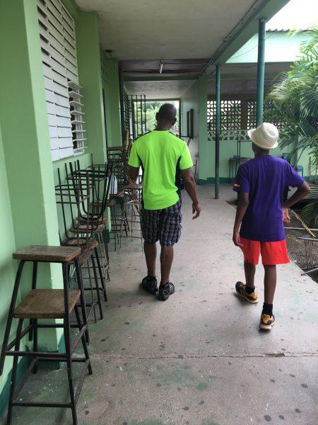 Jamaica with Grandfather, Grandpa