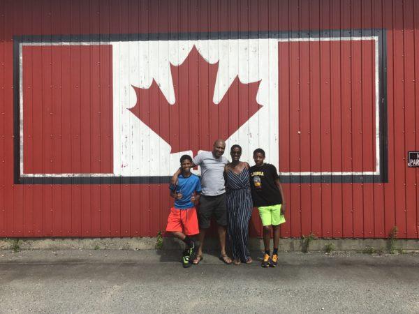 Family road Trip Canada