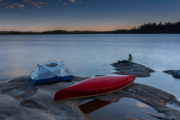 canoes and camping ontario travel